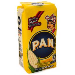 HARINA MAIZ BLANCO P.A.N 1KG