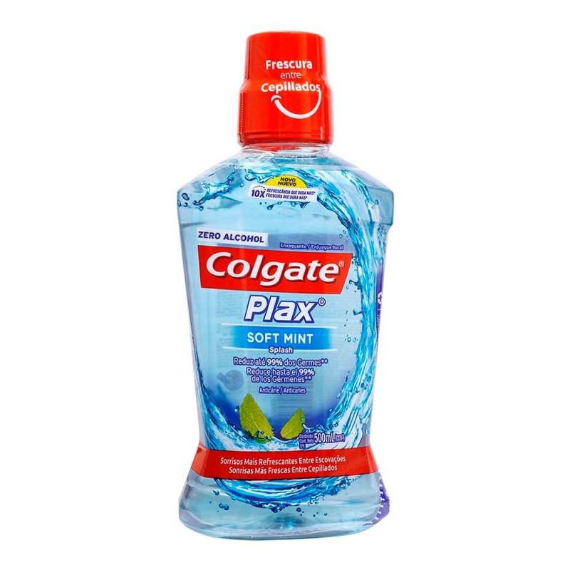 ENJUAGUE BUCAL COLGATE® PLAX SOFT MINT 250 ml