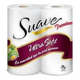 Papel Higiénico Suave Premium Ultra Soft hojas dobles