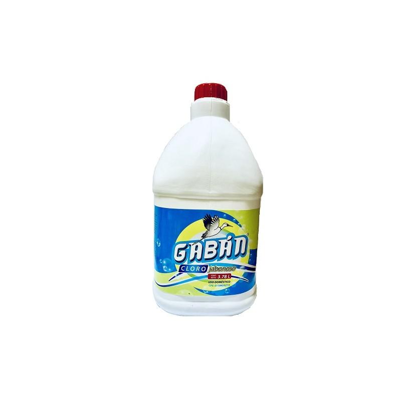 Cloro Jabonoso Gabán - Galón 3.785 litros
