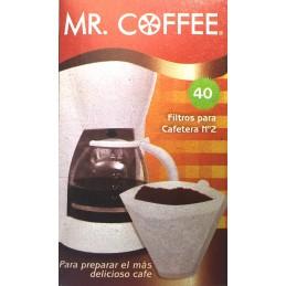 Filtros de papel para Cafetera número 2