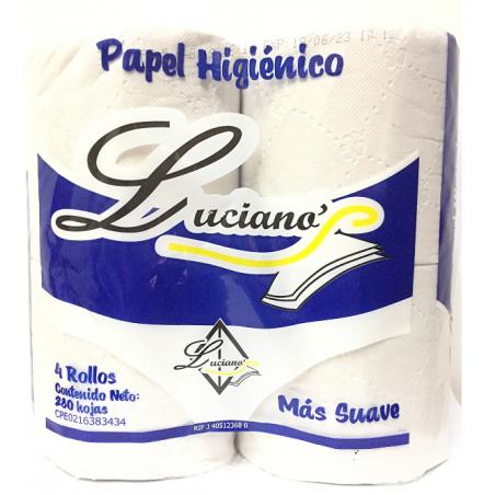 Papel Higiénico Luciano 280 Hojas